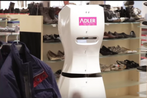 This is the future of Shopping : A robot performs inventory and assisted shopping!